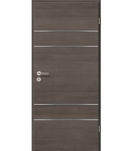 Lisenen-Türen - Pinie Grau Cross-3504