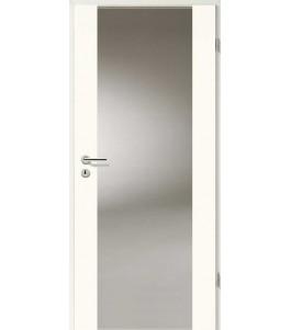 Holztüren - Türblatt - Uni Weiß mit Lichtband 2100