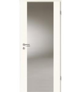 Holztüren - Türblatt - Arctic Weiß mit Lichtband 2100