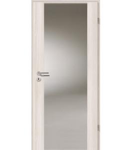 Holztüren - Türblatt - Lärche Weiß mit Lichtband 2100