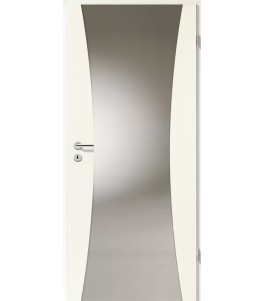 Türblatt - Esche Weiß mit Lichtband 2300