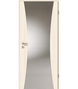 Holztüren - Türblatt - Coco Bolo Weiß mit Lichtband 2300