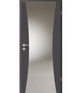Holztüren - Türblatt - Achat mit Lichtband 2300