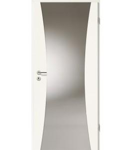 Holztüren - Türblatt - Uni Weiß mit Lichtband 2300