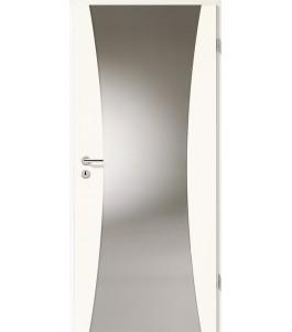 Holztüren - Türblatt - Arctic Weiß mit Lichtband 2300