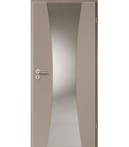 Türblatt - Macchiato mit Lichtband 2301