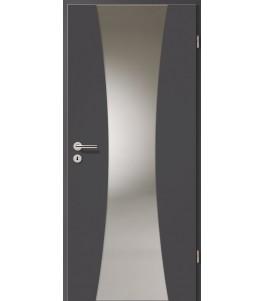 Holztüren - Türblatt - Achat mit Lichtband 2301