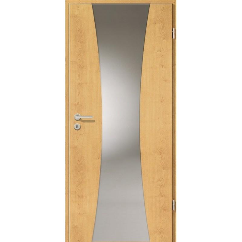 Holztüren - Türblatt - Ahorn Rustikal mit Lichtband 2301