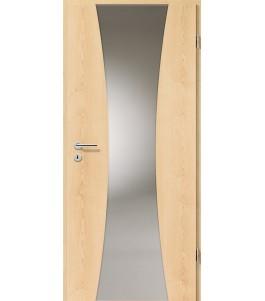 Holztüren - Türblatt - Ahorn Natur mit Lichtband 2301