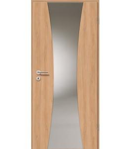 Holztüren - Türblatt - Birnbaum Modern mit Lichtband 2301