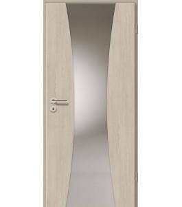 Holztüren - Türblatt - Bernsteineiche mit Lichtband 2301