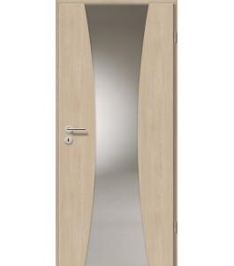Holztüren - Türblatt - Platineiche mit Lichtband 2301