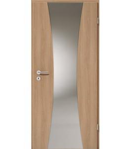 Holztüren - Türblatt - Eiche Italia mit Lichtband 2301