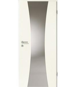 Türblatt - Esche Weiß mit Lichtband 2301