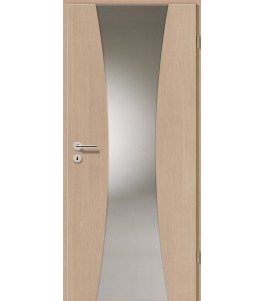 Holztüren - Türblatt - Pinie Hell mit Lichtband 2301