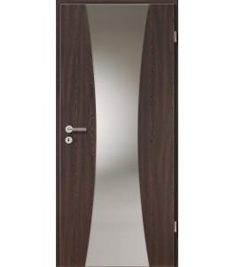 Holztüren - Türblatt - Wenge mit Lichtband 2301