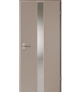 Türblatt - Macchiato mit Lichtband 2201