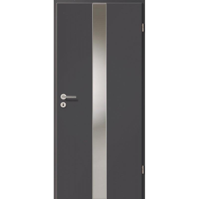 Holztüren - Türblatt - Achat mit Lichtband 2201