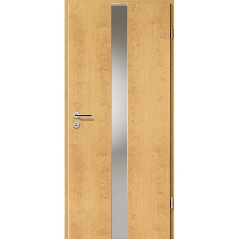 Holztüren - Türblatt - Ahorn Rustikal mit Lichtband 2201