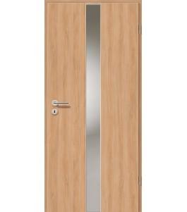 Holztüren - Türblatt - Birnbaum Modern mit Lichtband 2201