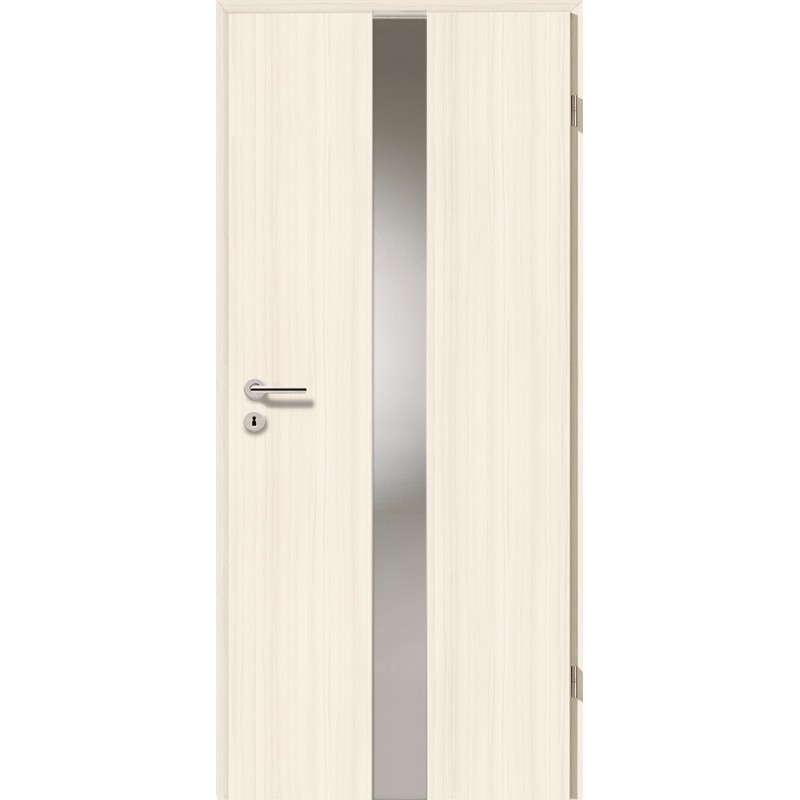 Holztüren - Türblatt - Coco Bolo Weiß mit Lichtband 2201