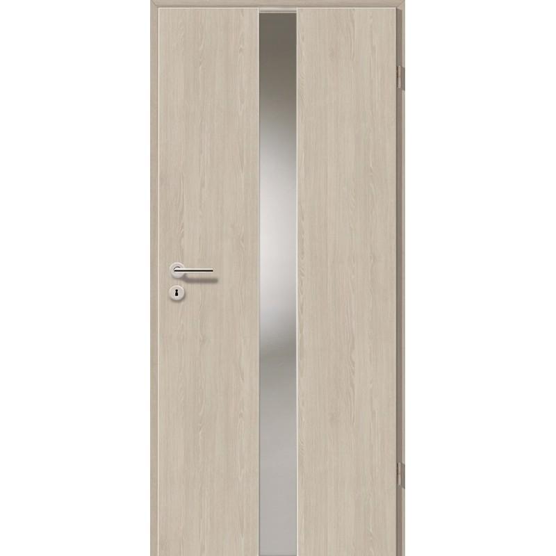 Holztüren - Türblatt - Bernsteineiche mit Lichtband 2201