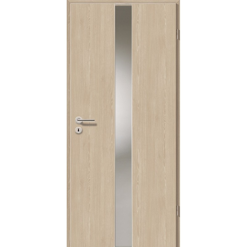 Holztüren - Türblatt - Platineiche mit Lichtband 2201