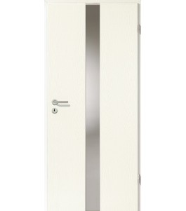Türblatt - Esche Weiß mit Lichtband 2201