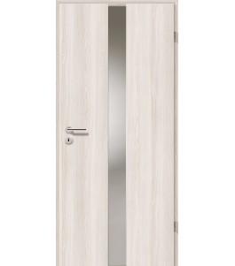 Holztüren - Türblatt - Lärche Weiß mit Lichtband 2201