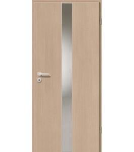 Holztüren - Türblatt - Pinie Hell mit Lichtband 2201