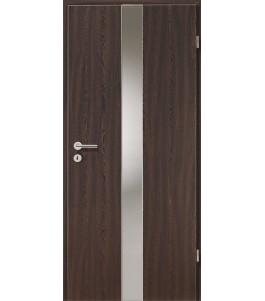 Holztüren - Türblatt - Wenge mit Lichtband 2201