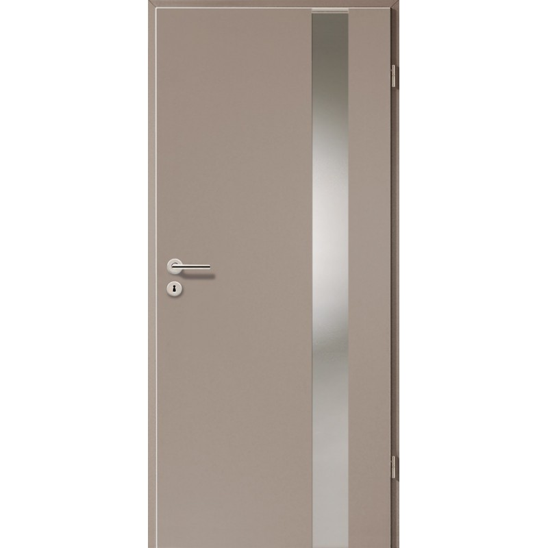 Holztüren - Türblatt - Macchiato mit Lichtband 2203