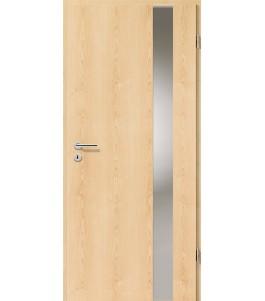 Holztüren - Türblatt - Ahorn Natur mit Lichtband 2203