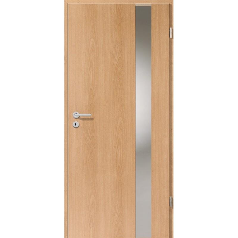 Holztüren - Türblatt - Buche mit Lichtband 2203