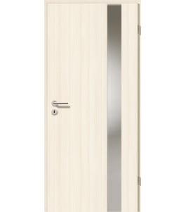 Holztüren - Türblatt - Coco Bolo Weiß mit Lichtband 2203