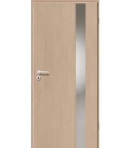 Holztüren - Türblatt - Pinie Hell mit Lichtband 2203