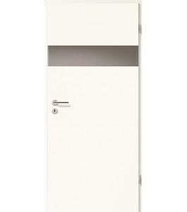 Türblatt - Arctic Weiß mit Lichtband 2204