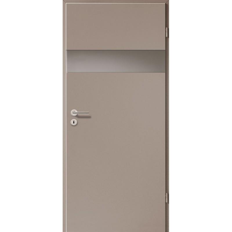 Holztüren - Türblatt - Macchiato mit Lichtband 2204