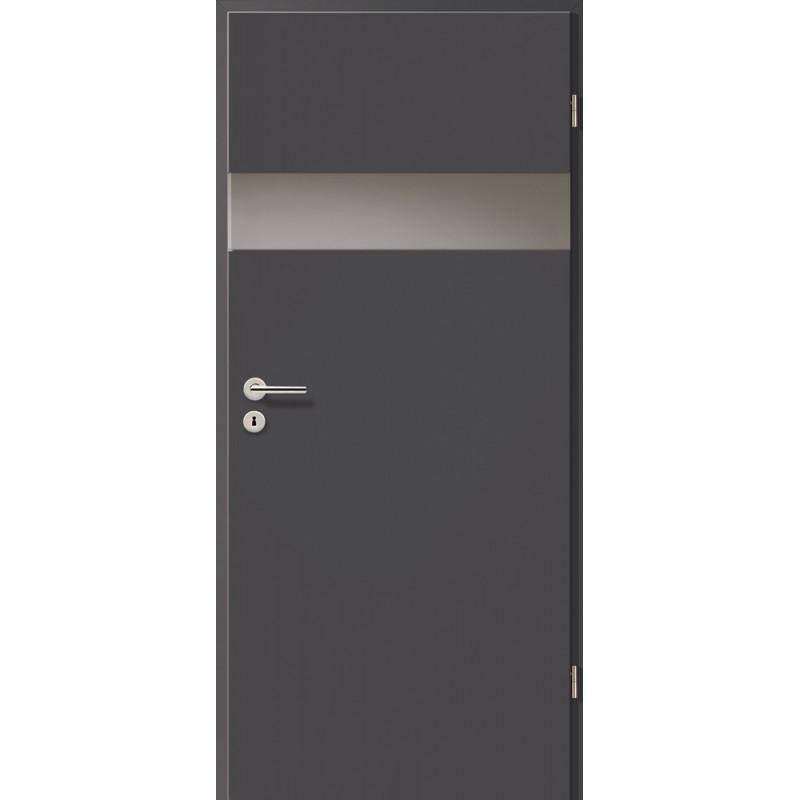 Holztüren - Türblatt - Achat mit Lichtband 2204