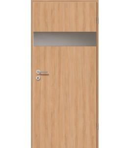 Holztüren - Türblatt - Birnbaum Modern mit Lichtband 2204