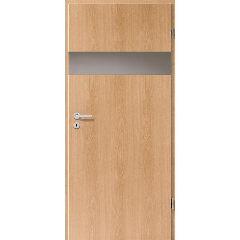 Holztüren - Türblatt - Buche mit Lichtband 2204