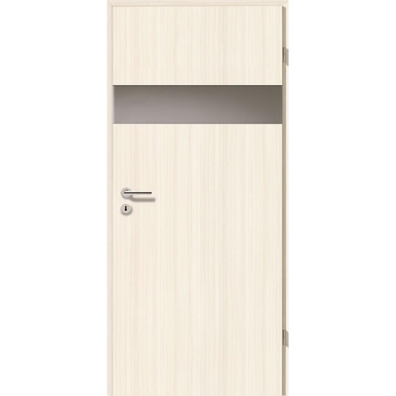 Holztüren - Türblatt - Coco Bolo Weiß mit Lichtband 2204