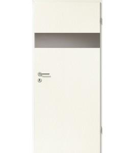 Holztüren - Türblatt - Esche Weiß mit Lichtband 2204