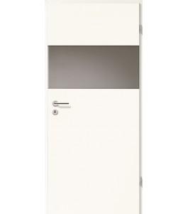 Türblatt - Arctic Weiß mit Lichtband 2209