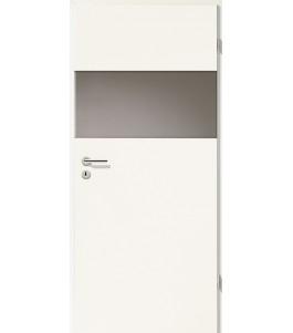 Holztüren - Türblatt - Uni Weiß mit Lichtband 2209