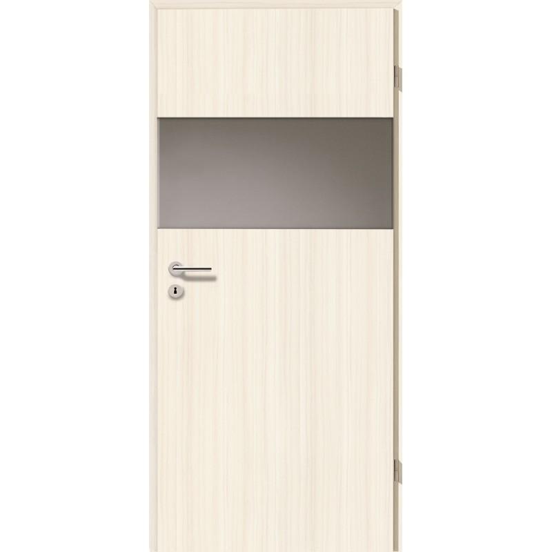 Holztüren - Türblatt - Coco Bolo Weiß mit Lichtband 2209