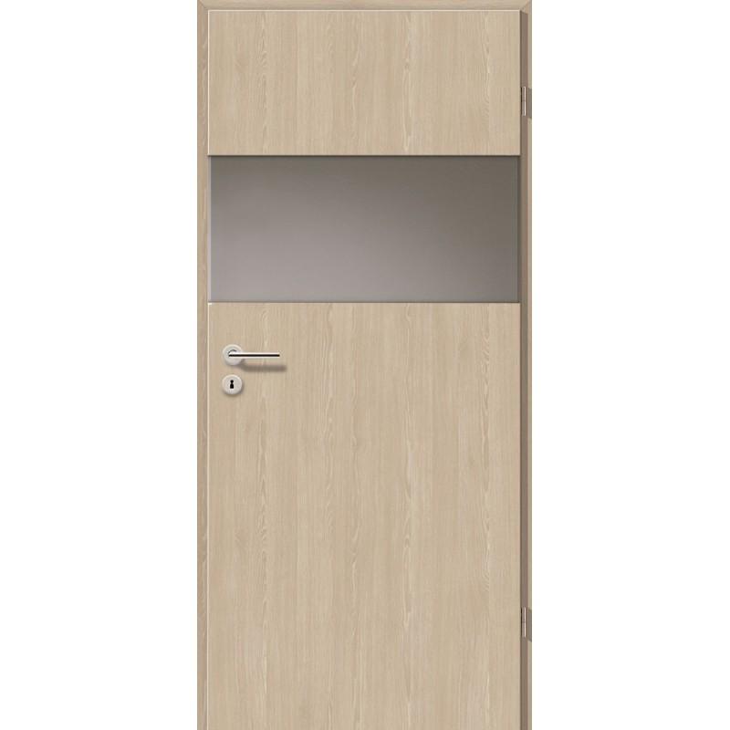 Holztüren - Türblatt - Platineiche mit Lichtband 2209