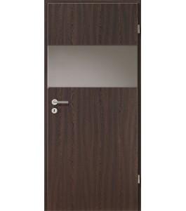 Holztüren - Türblatt - Wenge mit Lichtband 2209