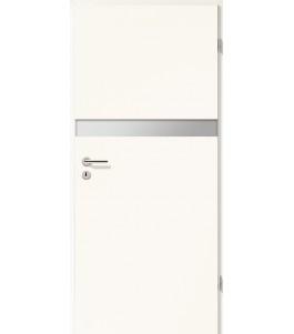 Holztüren - Türblatt - Arctic Weiß mit Lichtband 2211