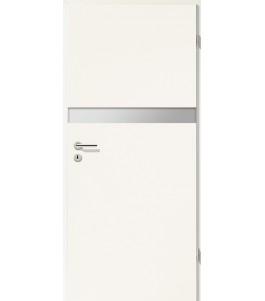 Holztüren - Türblatt - Uni Weiß mit Lichtband 2211